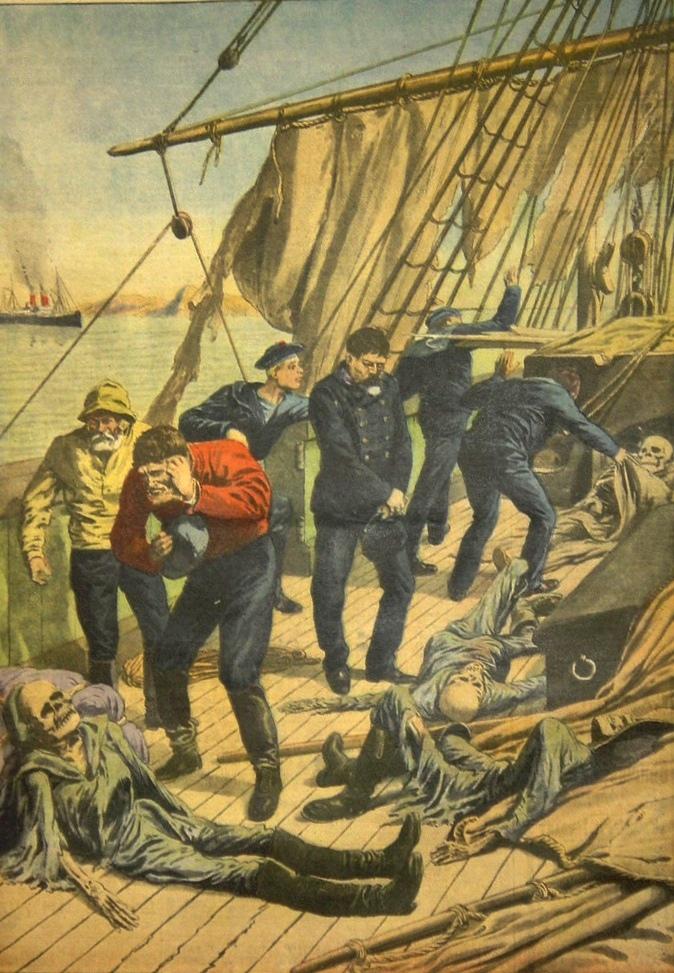 El barco de los esqueletos